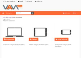 demo.vamcart.com
