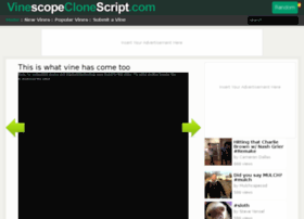 demo.vinescopeclonescript.com