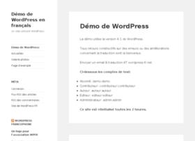 demo.wordpress-fr.net