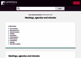 democracy.canterbury.gov.uk