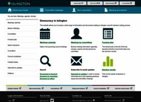 democracy.islington.gov.uk