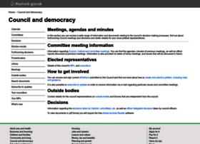 democracy.thurrock.gov.uk