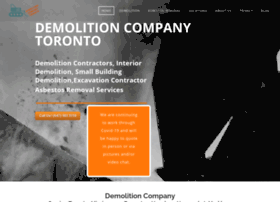 demolitioncompanytoronto.ca
