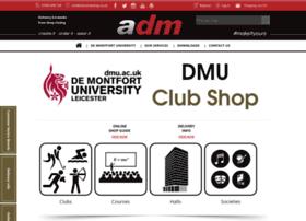 demontfortuniversity.admclubshop.co.uk