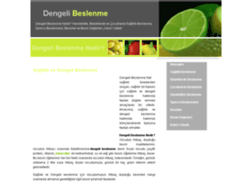 dengeli-beslenme.net