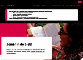 denieuwebibliotheek.nl