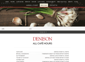 denison.cafebonappetit.com