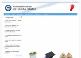 dental.marmara.edu.tr