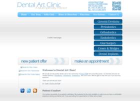 dentalartclinic.com