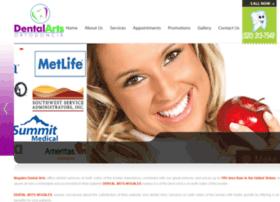 dentalartsnogales.com