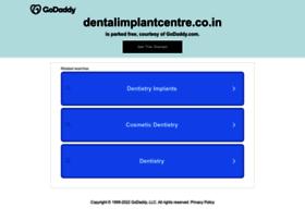 dentalimplantcentre.co.in