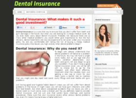 dentalinsuranceuk.com