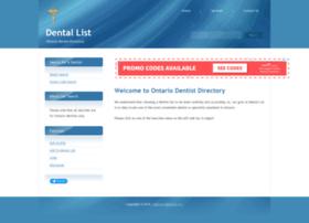 dentallist.com