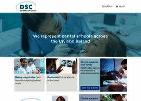 dentalschoolscouncil.ac.uk