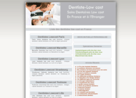 dentiste-lowcost.fr