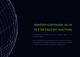 dentistincolchester.co.uk