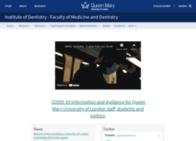 dentistry.qmul.ac.uk