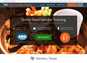 dentontx.foodhandlerclasses.com