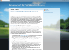 denver-car-service.blogspot.com