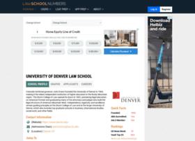 denver.lawschoolnumbers.com