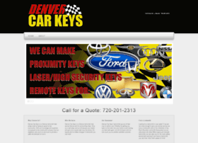 denvercarkeys.com