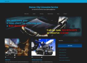 denvercitylimousineservice.com