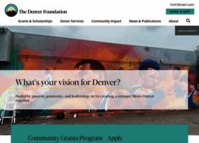denverfoundation.org