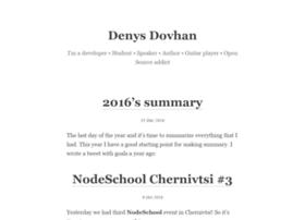 denysdovhan.com