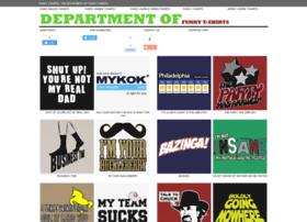 departmentoffunnytshirts.com
