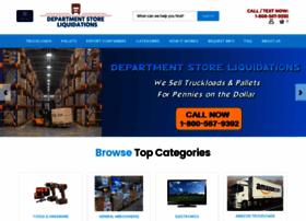departmentstoreliquidations.com