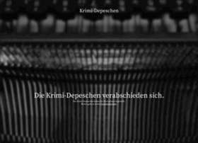 depeschen.krimiblog.de