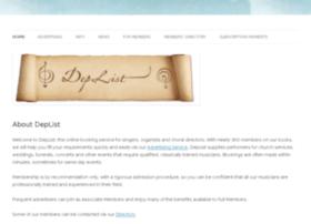 deplist.com