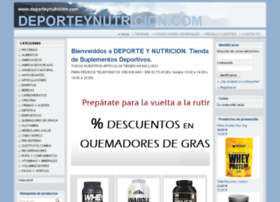 deporteynutricion.com