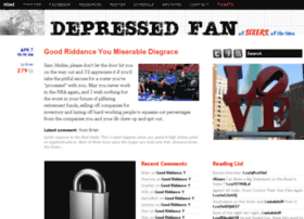 depressedfan.com