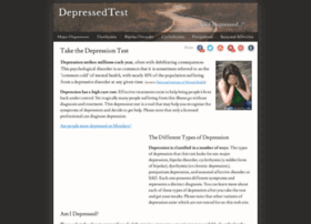 depressedtest.com