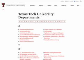 depts.ttu.edu