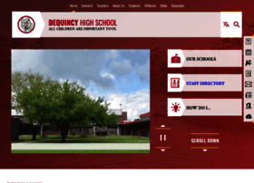 dequincyhigh.cpsb.org