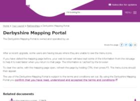 derbyshiremaps.derbyshire.gov.uk