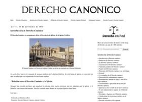 derecho-canonico.com