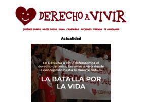 derechoavivir.org
