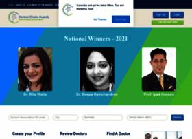 dermatology.doctorschoiceawards.org