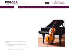 derosamusic.co.uk