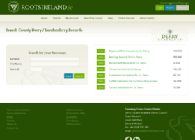derry.rootsireland.ie