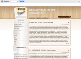 dersvekuran.blogcu.com