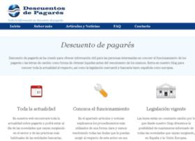 descuentosdepagares.info