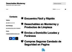 desechablesmonterrey.com