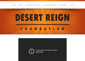 desertreignfoundation.org