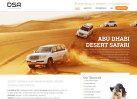 desertsafariinabudhabi.com
