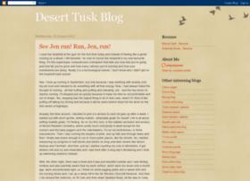 deserttusk.blogspot.com