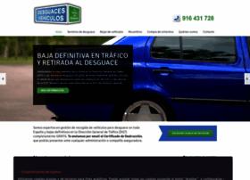 desguacesvehiculos.es